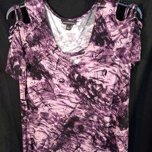 Rock Revival Purple Tie Dye Blouse